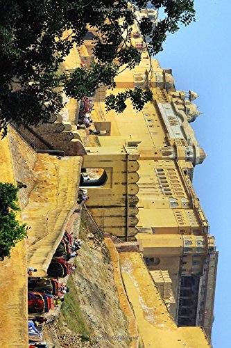 Elephant Caravan Going to the Amber Fort: Journal, Travel Lovers