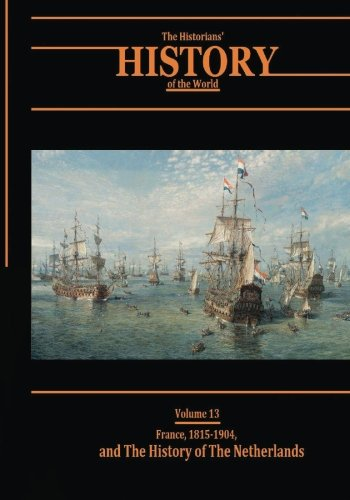 France, 1815-1904, and the History of the: Various