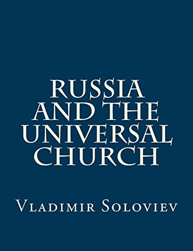 9781546826927: Russia and the Universal Church