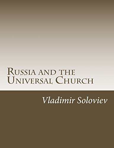 9781546827252: Russia and the Universal Church