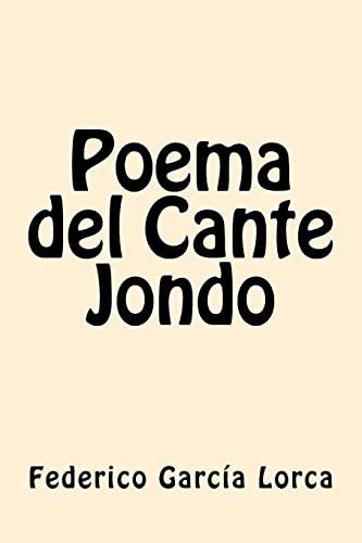 Poema del Cante Jondo (Paperback): Federico Garcia Lorca