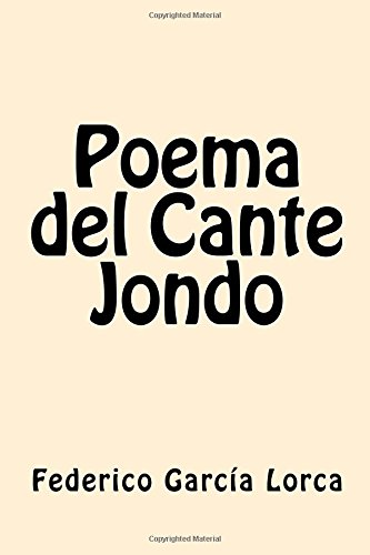 9781546920472: Poema del Cante Jondo