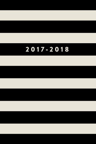 2017 - 2018: 18 Month Planner, July 2017 To December 2018, Stripes: Creative Notebooks