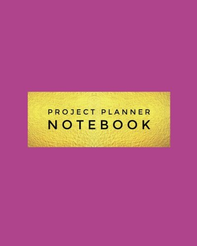 """9781546974475: Project Planner Notebook: Purple Organizer For Your Projects Or Meetings, Our Book Includes: Attendees List, Action Items, Notes, Follow Up, & To Do List 