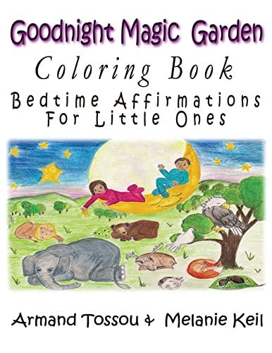 9781547016662 Goodnight Magic Garden Coloring Book Bedtime