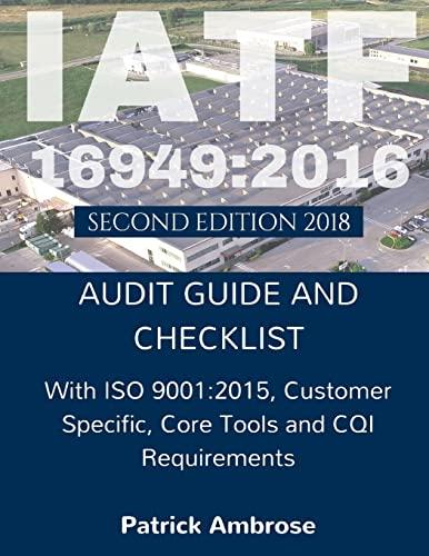 9781547033553: IATF 16949:2016 Plus ISO 9001:2015
