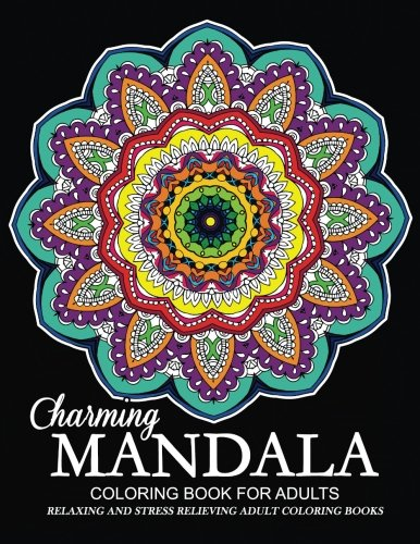 Charming Mandala Coloring Book for Adults: Relaxation: Jupiter Coloring