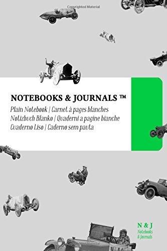 Notebooks & Journals, Autom?viles (Colecci?n Vintage), Pocket,: Notebooks and Journals