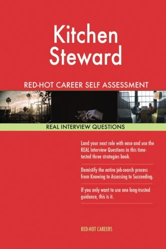 Kitchen Steward Red-Hot Career Self Assessment Guide;: Careers, Red-Hot