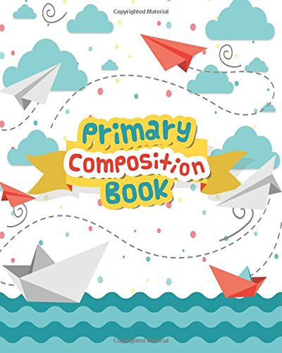 Primary Composition Books: Wide Ruled Large Notebook: C&M Creative Log
