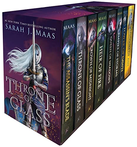 9781547602186: Throne of Glass Box Set: 1-7