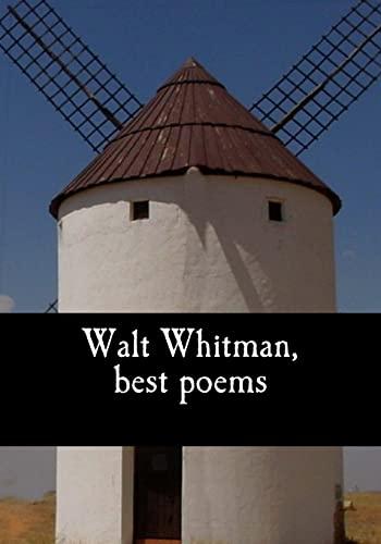 9781548165840: Walt Whitman, best poems