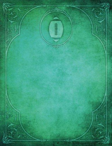 Monogram Football, American Blank Sketchbook: Art Sketch: Services, N.D. Author