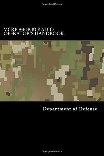 MCRP 8-10B.10 Radio Operator's Handbook: Department of Defense