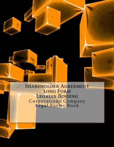 Shareholder Agreement-long Form - Legally Binding: Corporations: Coallier, Julien