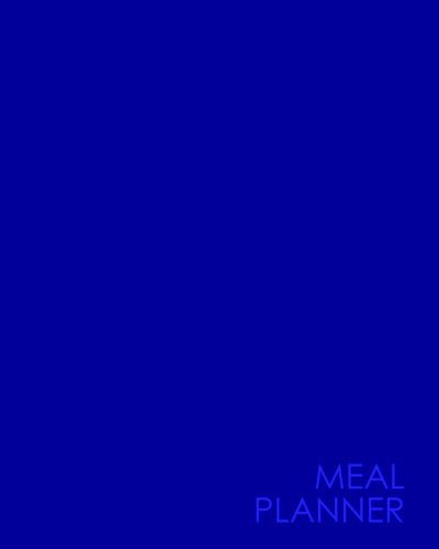 Meal Planner: Meal Planning Pad Food Diary: Moito Publishing