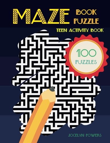 Maze Book Puzzle: Teen Activity Book 100 Puzzles (Paperback)