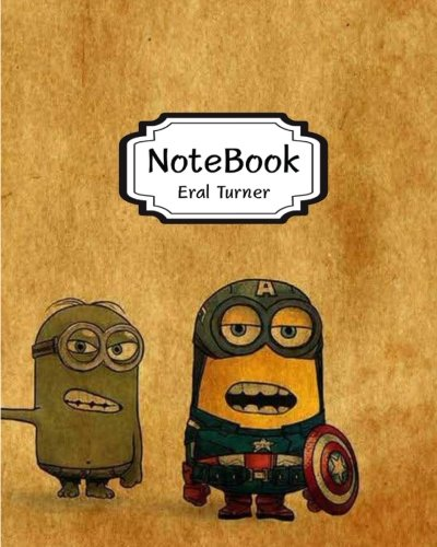 "9781548694883 - Turner, Eral: Notebook: Cosplay Minions: Pocket Notebook Journal Diary, 120 Pages, 8"" X 10"" (Notebook Lined, Blank No Lined) - کتاب"