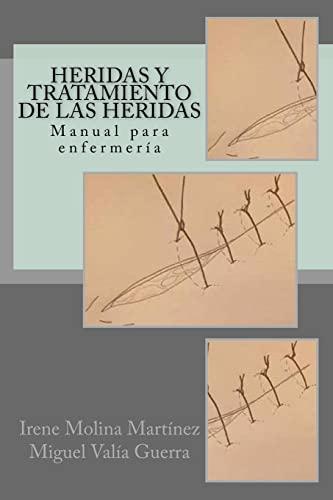 Heridas y Tratamiento de Las Heridas: Manual: Molina Martinez, Irene