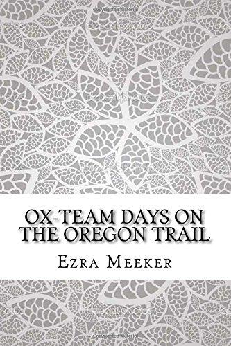 Ox Team Days Oregon Trail Abebooks