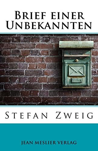 Brief einer Unbekannten (Paperback) - Stefan Zweig