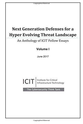 Next Generation Defenses for a Hyper Evolving: Scott, James, Harkins,