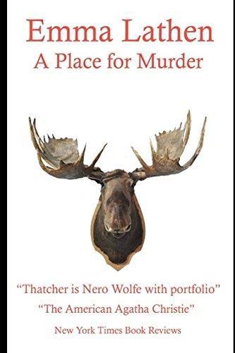 9781549679131: A Place for Murder: An Emma Lathen Best Seller