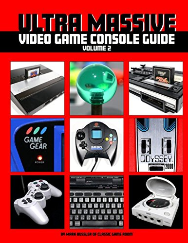 Ultra Massive Video Game Console Guide Volume 2 9781549974762 Ultra Massive Volume 2 continues the never-ending saga of celebrating the failed, forgotten and groundbreaking video game consoles from