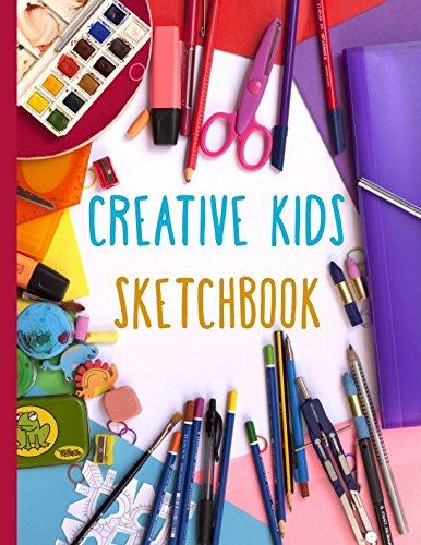 Creative Kids Sketchbook: Blank Artist Sketchbook for Boys and Girls: Sky Blank