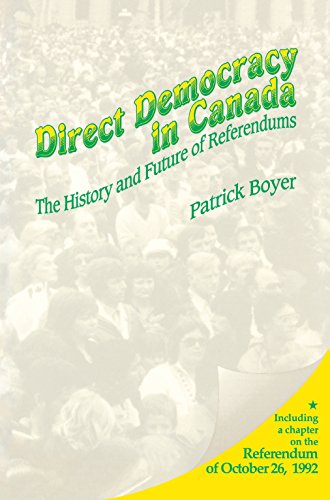 9781550021837: Direct Democracy in Canada