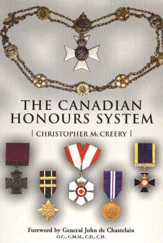 9781550025545: The Canadian Honours System