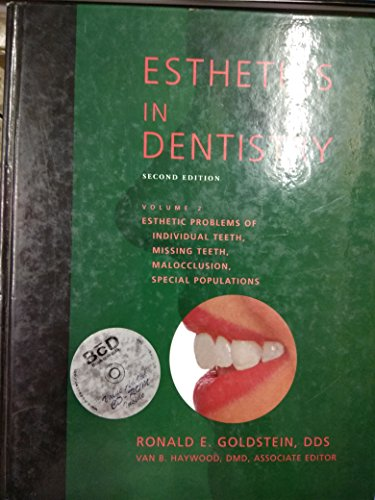 9781550090482: Esthetics in Dentistry, Volume 2: Esthetic Problems of Individual Teeth, Missing Teeth, Malocclusion, Special Populations (Book with CD-ROM)