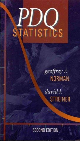 9781550090765: PDQ Statistics