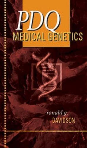 9781550091786: PDQ Medical Genetics