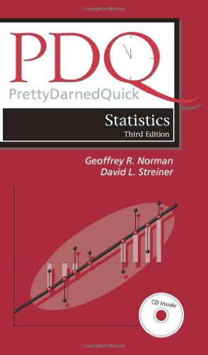 9781550092073: Pdq Statistics (PDQ Series) Third Edition