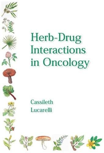 9781550092455: Herb-Drug Interactions in Oncology