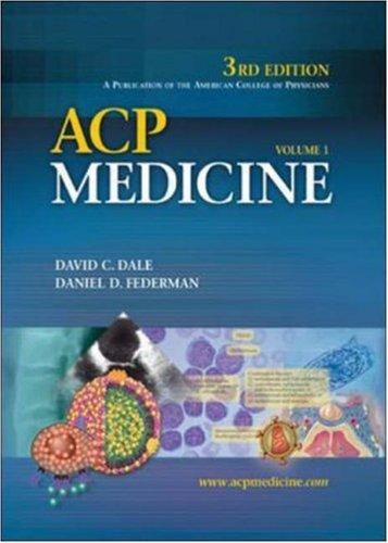 ACP Medicine (2 Volume Set): David C. Dale