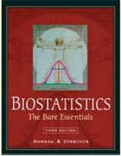 9781550094008: Biostatistics: The Bare Essentials 3/e (with SPSS)