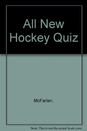 All New Hockey Quiz Book