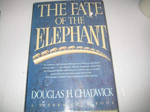 9781550134339: The Fate of the Elephant