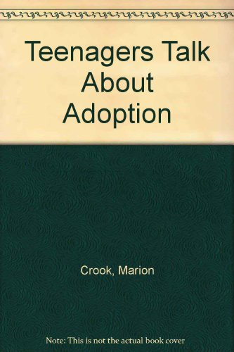 9781550210477: Teenagers Talk About Adoption