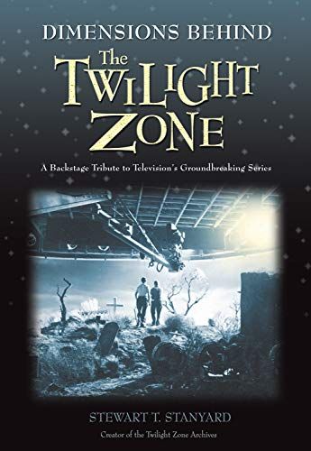 Dimensions Behind the Twilight Zone: A Backstage Tribute to Televisions Groundbreaking Series 9781550227444 ?In the chronicles of television's history, Rod Serling's Twilight Zone is considered by far the medium's quintessential creation. The CBS series that debuted in 1959 and aired for 156 episodes offered black-and-white morality plays both terrifying and poignant. Each week the ominous voice and brilliant mind of writer Serling took audiences on a trip through his surrealist realm of fantasy and science fiction, beyond the boundaries of imagination. Dimensions Behind the Twilight Zone is a visually stunning backstage glimpse through time and space, into the history and making of the Twilight Zone. Author Stewart T. Stanyard, creator of The Twilight Zone Archives online, invites readers to explore a portion of the archives collection: over 300 original behind-the-scenes production stills taken during the filming of the show. Accompanied by insightful captions, the book includes rare documents and interviews with 40 producers, directors, writers, and actors who worked on the series, such as Dennis Weaver, Bill Murray, Shelly Berman, Earl Holliman, and Earl Hamner, Jr. The book also features candid interviews with Serling's wife Carol, brother and writer Robert, and Serling's influential teacher Helen Foley. Aside from five informative and analytical chapters by the author, it features tribute essays by several Hollywood personalities, including Rush drummer Neil Peart, Simpsons producer Dana Gould, and Star Trek: Next Generation writer Robert Hewitt Wolfe.