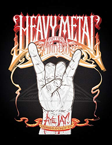 9781550227987: Heavy Metal Fun Time Activity Book