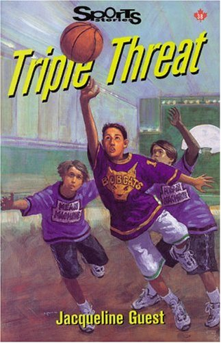 9781550286823: Triple Threat (Lorimer Sports Stories)
