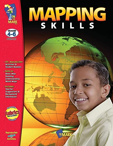Mapping Skills, Grades 4-6 (1550351451) by Ruth Solski