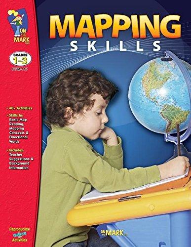 Mapping Skills, Grades 1-3: Komar, Melanie