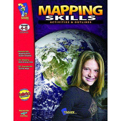 9781550357592: Mapping Skills: Activities & Outlines, Grades 4-8