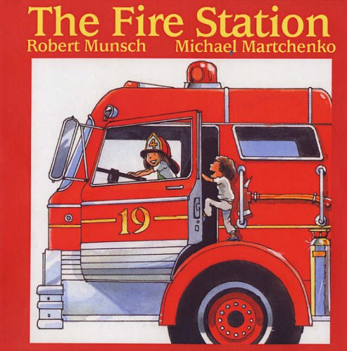 9781550371710: The Fire Station (Munsch for Kids)