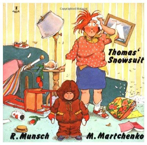 9781550373066: Thomas' Snowsuit (Chinese Edition) (Chinook Jargon Edition)
