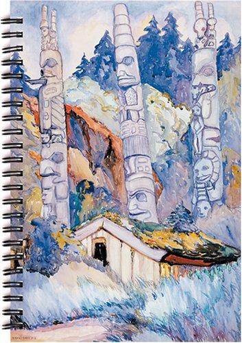 9781550391114: Haida Totems: Blank Writing Journal Notebook